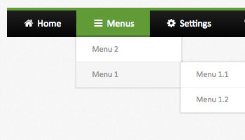 10 free html horizontal menus
